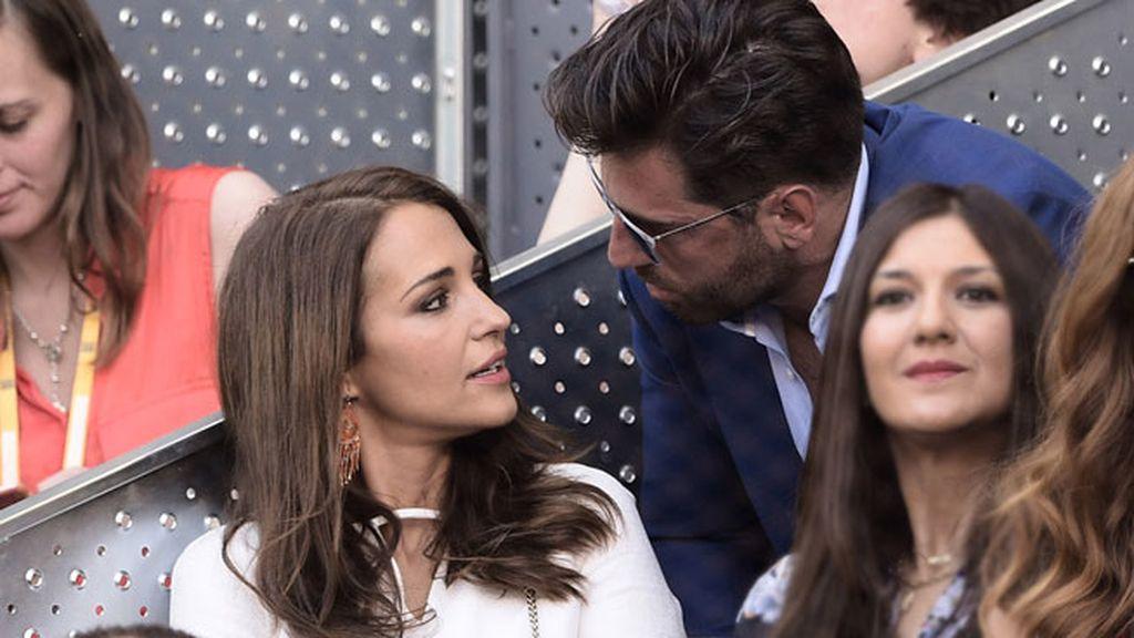 Paula Echevarría y Busta se mostraron muy compenetrados