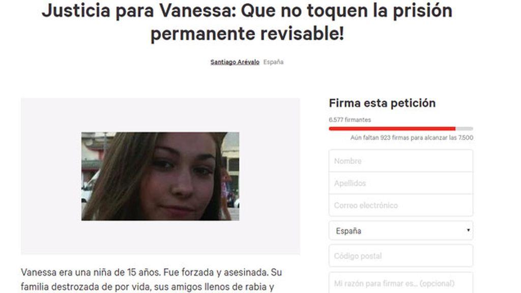 Familiares y amigos de Vanessa piden mantener la prisión permanente revisable