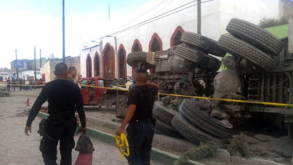 Mueren diez personas atropelladas por un camión en Zacatecas (México)