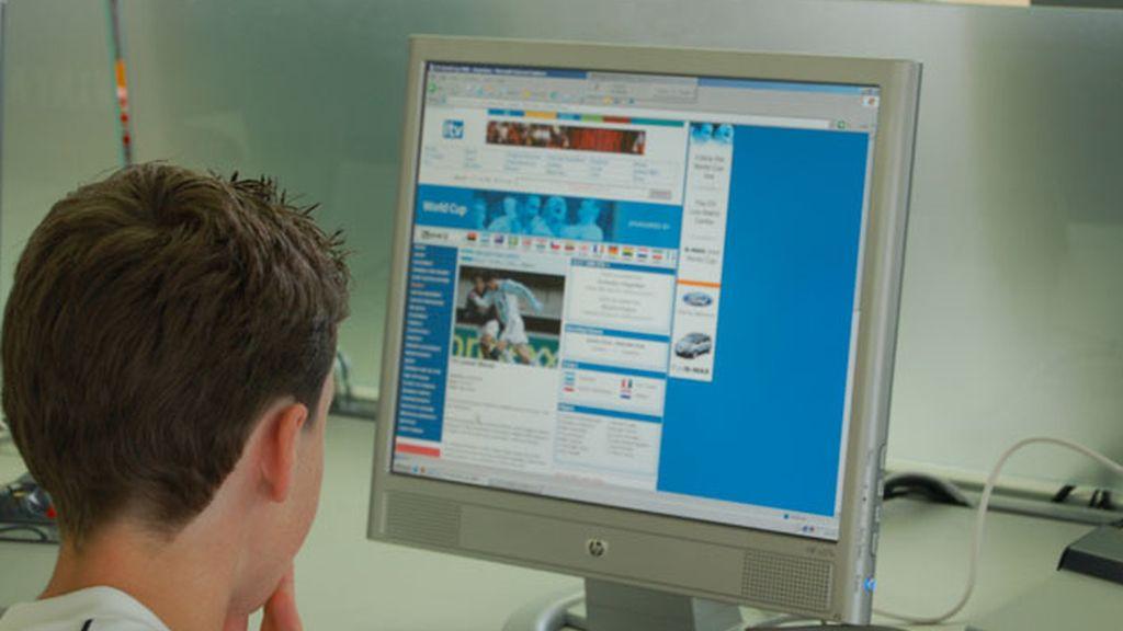niños internet, peligros menores internet, niños ordenadores