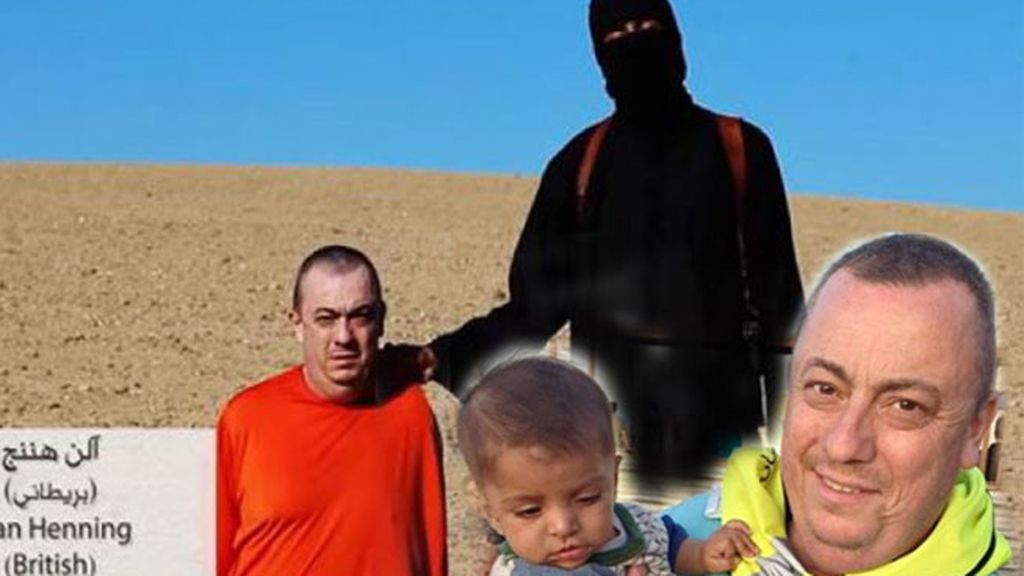 Alan Henning, decapitado, cooperante británico