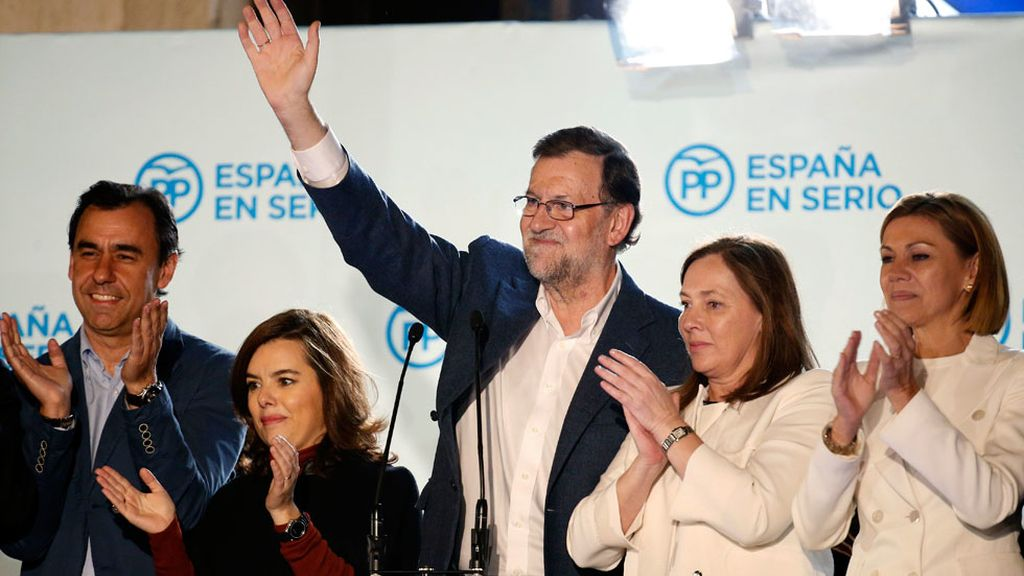 "Rajoy: ""Buscaré un Gobierno estable"""