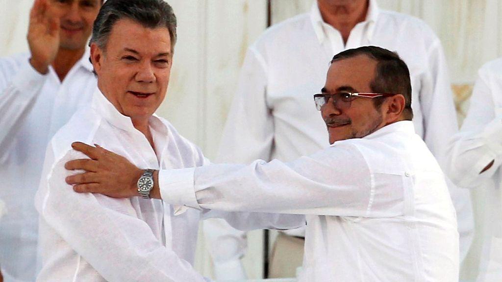 Colombia firma el acuerdo de paz con las FARC