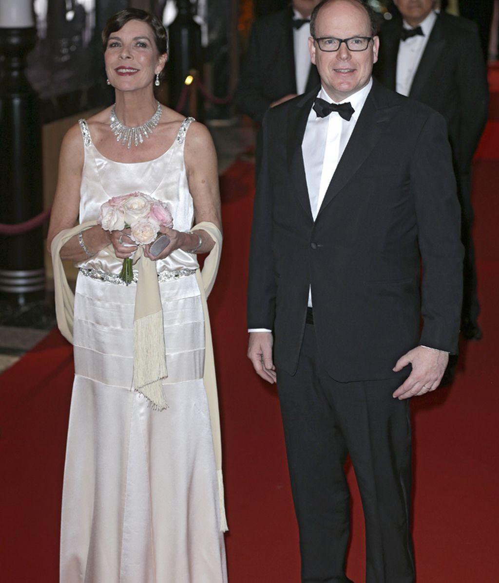 Carolina y Alberto presidieron el evento
