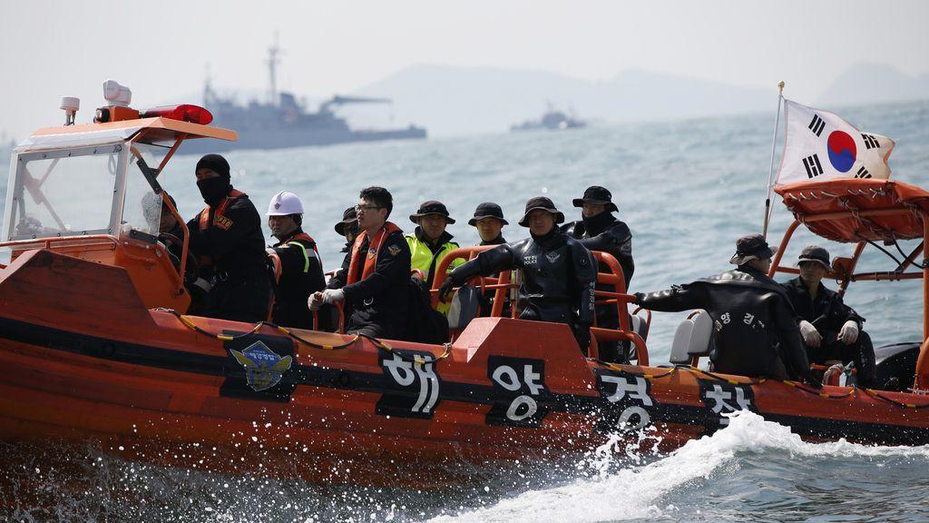 Ya son 46 el número de muertos en el naufragio del ferry en Corea del Sur