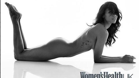 Zoe Saldana Se Desnuda Para Hablar Del Cuerpo Y De La Edad