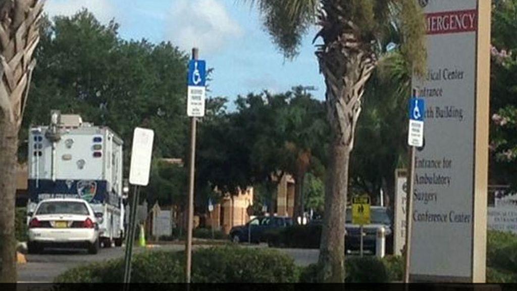 tiroteo hospital Florida