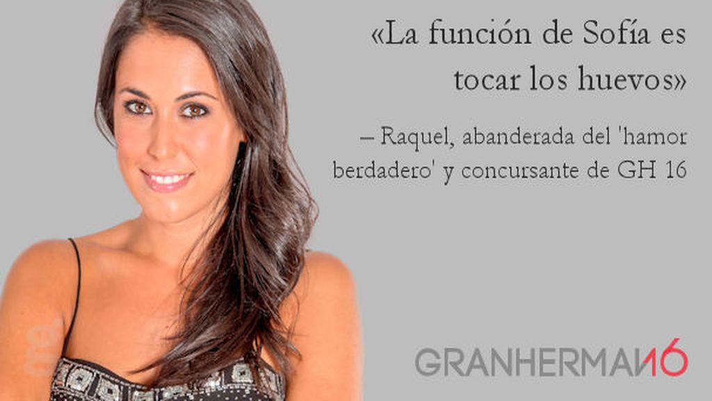 Frase: Raquel