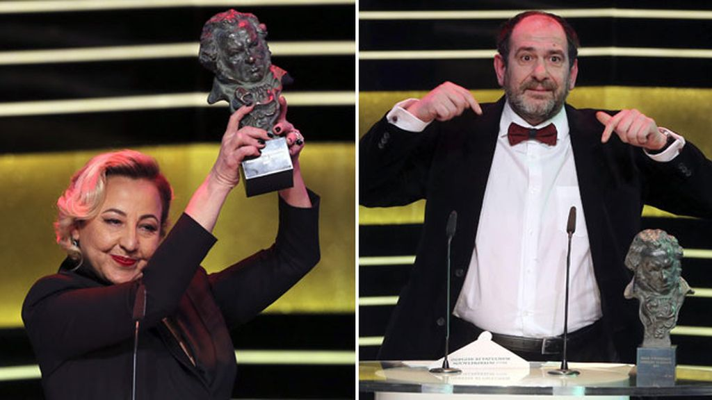 Carmen Machi y Karra Elejalde, premiados por 'Ocho apellidos vascos'