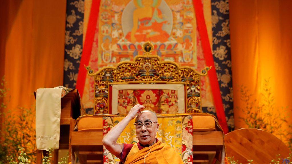 Dalai Lama, en Francia