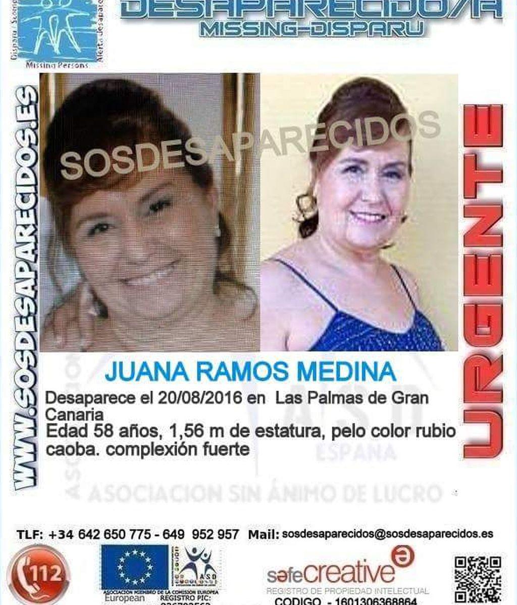 Desaparecida, Juana Ramos Medina