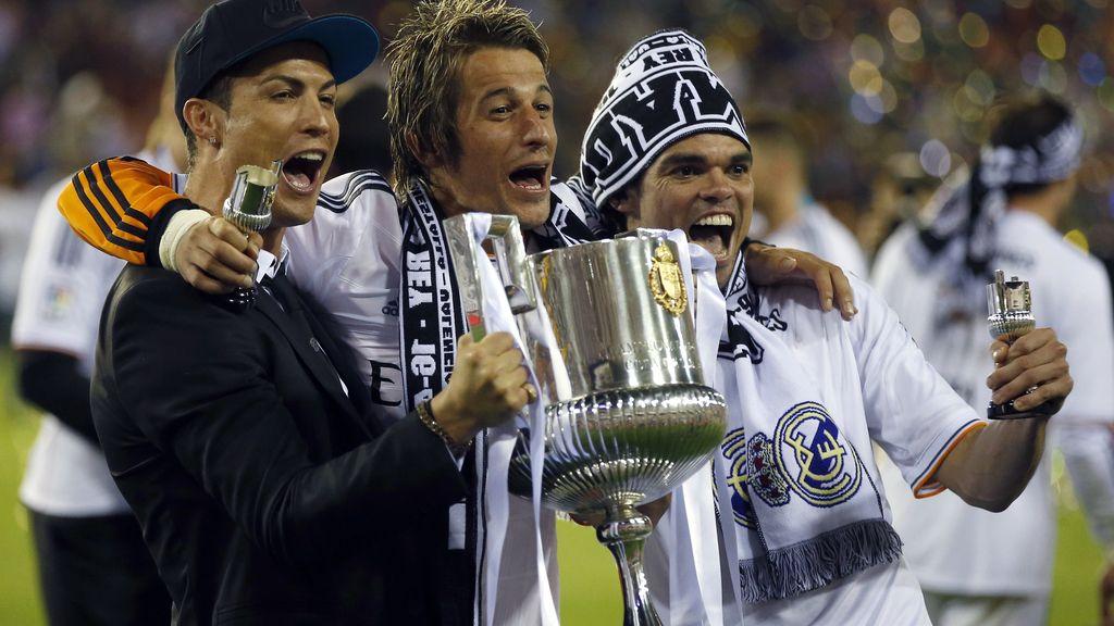 La Copa del Rey se tiñe de blanco