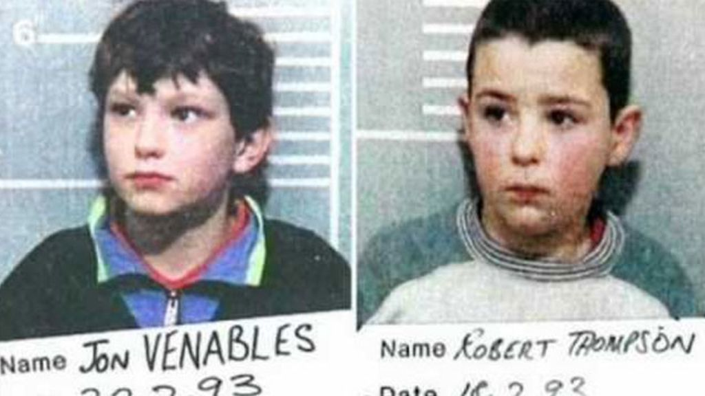 Jon Venables y Robert Thompson, ambos 10 años (1993)