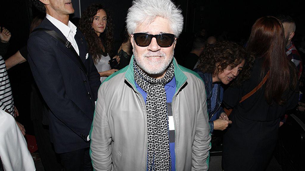 Pedro Almodóvar quiso apoyar a su amigo Félix Sabroso en el estreno de su nueva película
