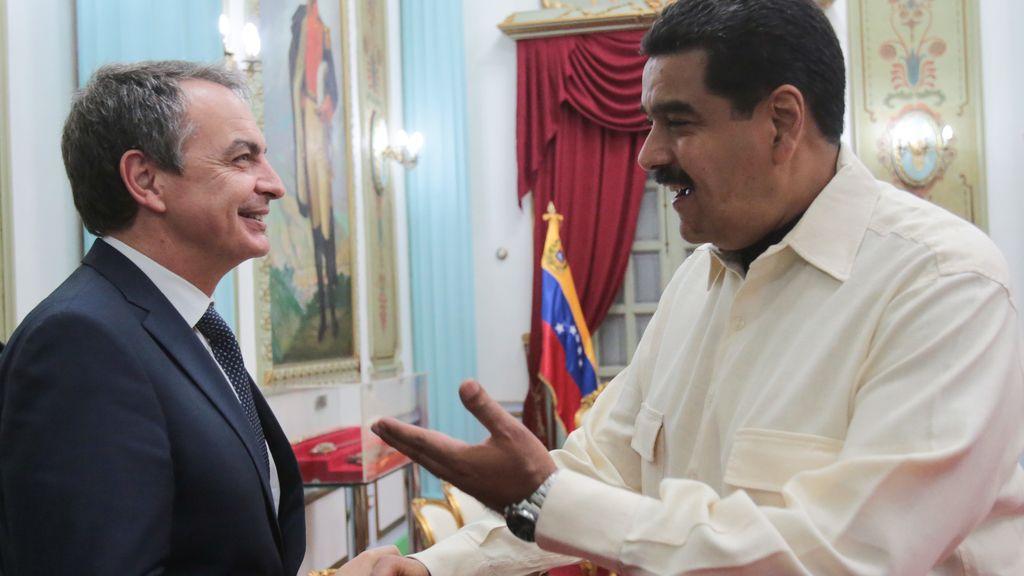 Maduro se reúne con Zapatero