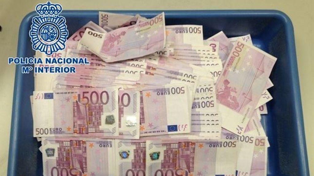 Nueve detenidos por blanqueo de capitales procedente del narcotráfico