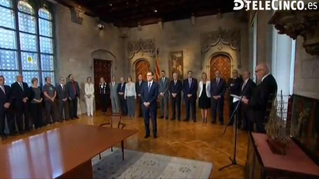 Jordi Baiget, en la firma de la consulta catalana