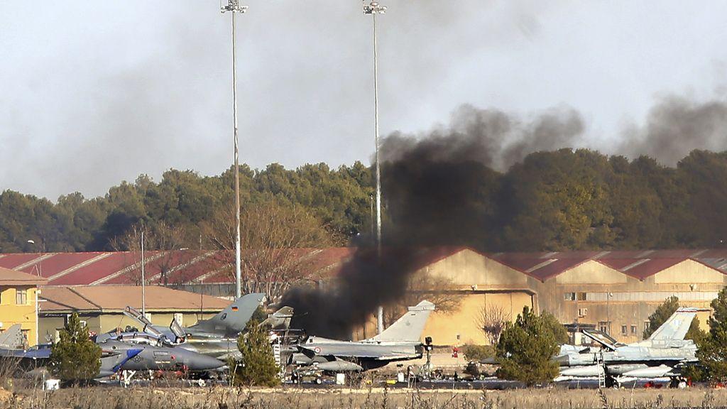 Tragedia aérea en la base militar de Los Llanos (Albacete)