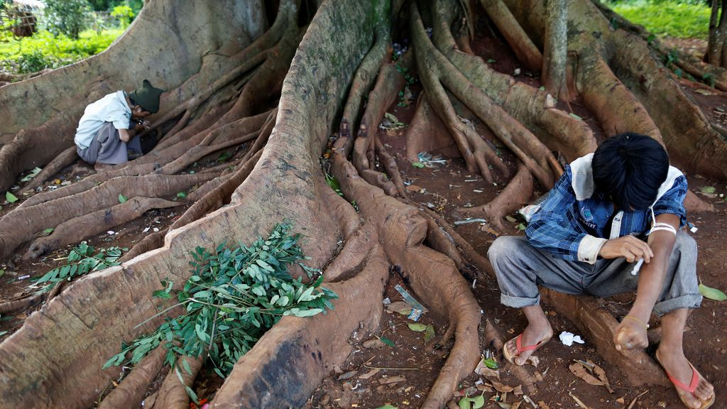 Herína, el rey de la calle en Myanmar