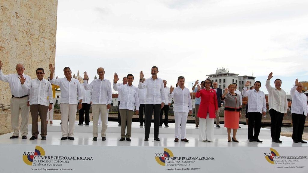 Líderes en la XXV Cumbre Iberoamericana