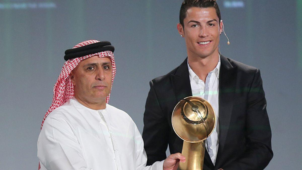 Cristiano Ronaldo obtiene en Dubai el premio 'Globe soccer' al mejor jugador del año