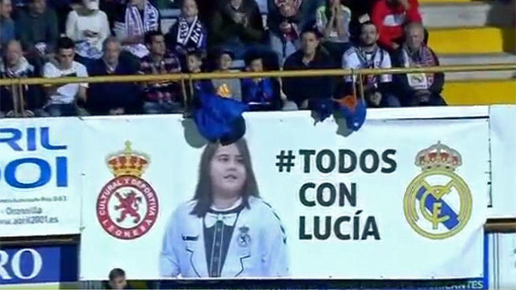 Todos con Lucia, Real Madrid