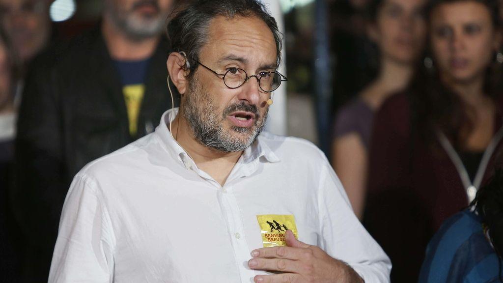 """Antonio Baños, de la CUP, pide el voto para que éste haya sido """"el último Parlament autonómico"""""""