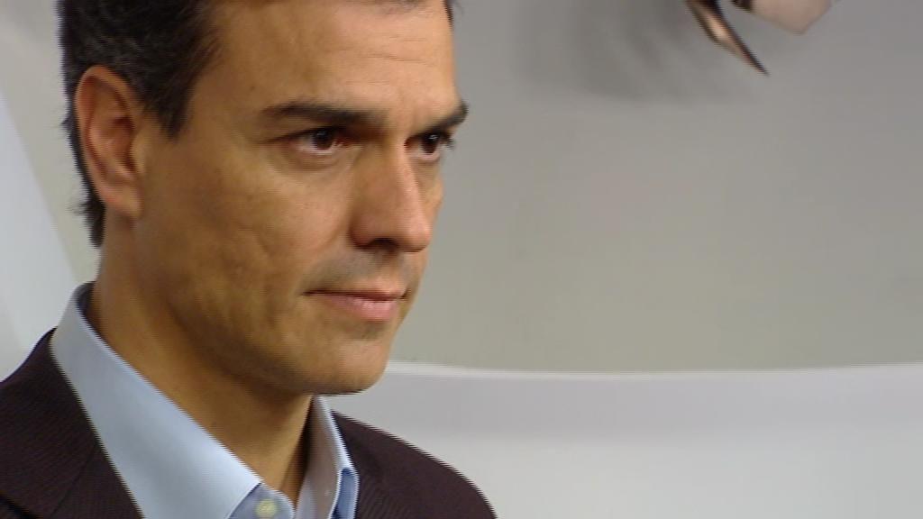 Pedro  Sánchez explica las razones de su dimisión