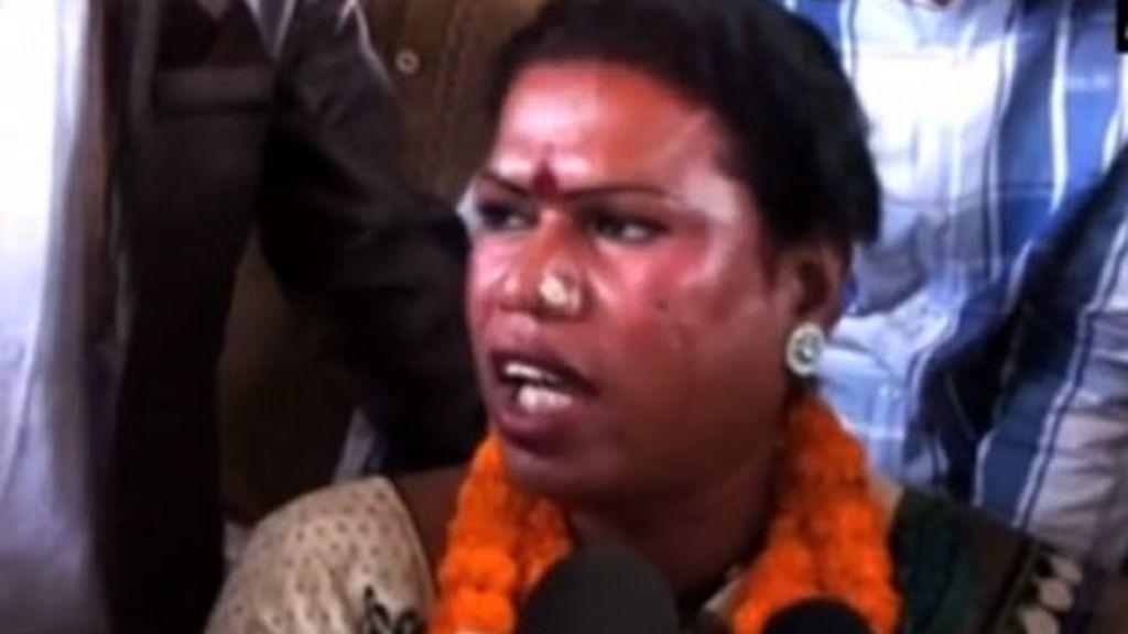 Raigarh,alcaldesa transexual,India,Madhu Bai Kinnar