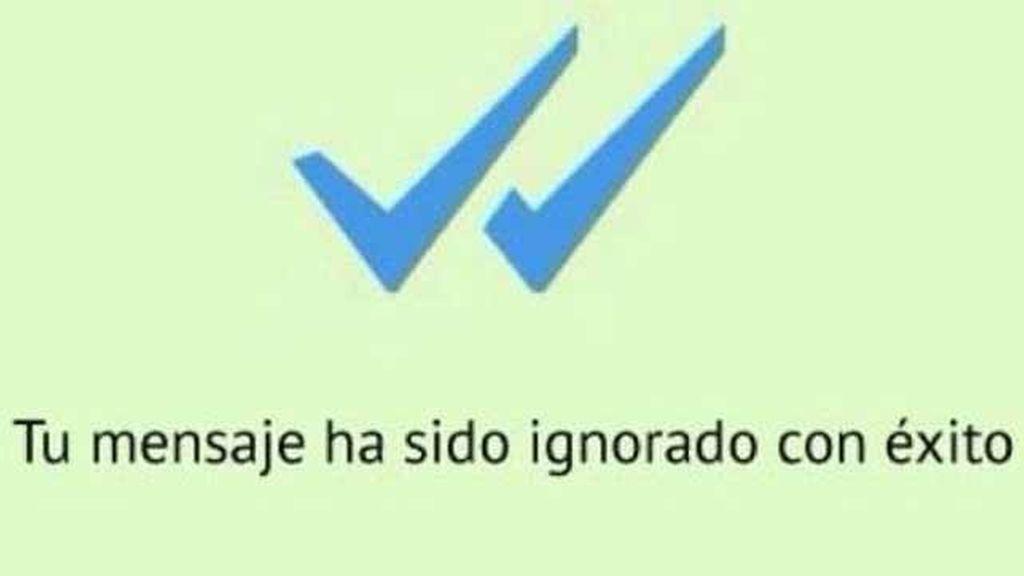 Memes de indignación por el doble check azul de Whatsapp