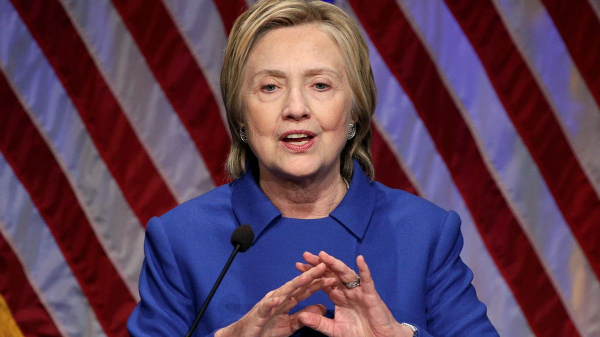 Hillary Clinton reaparece tras perder la presidencia