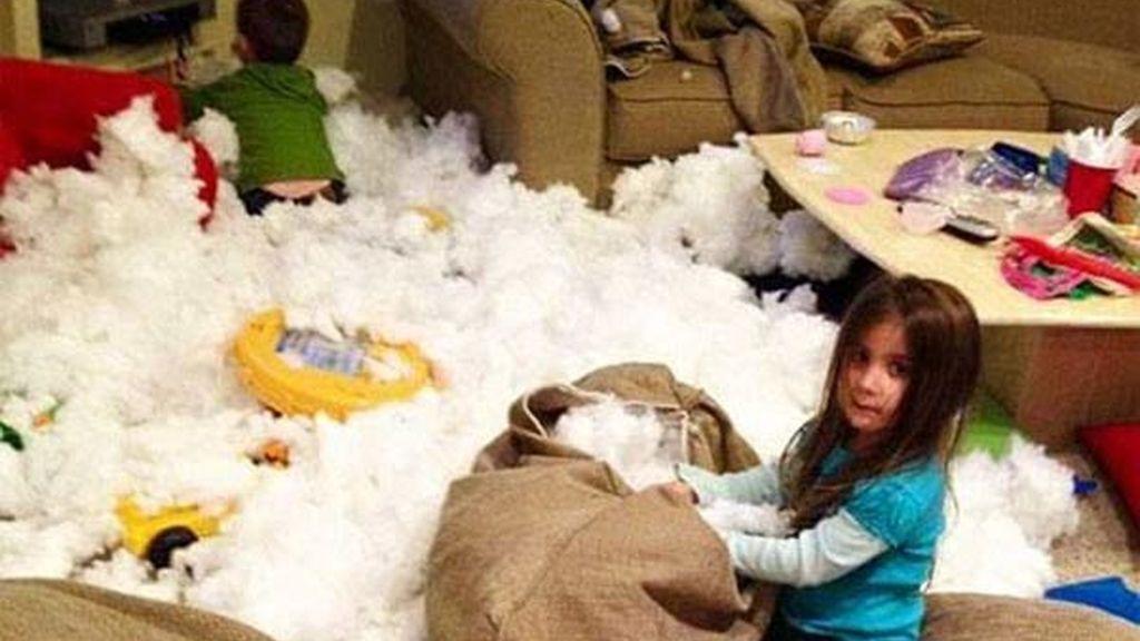 ¿Qué hay que hacer cuando un niño hace una trastada, enfadase o reírse?
