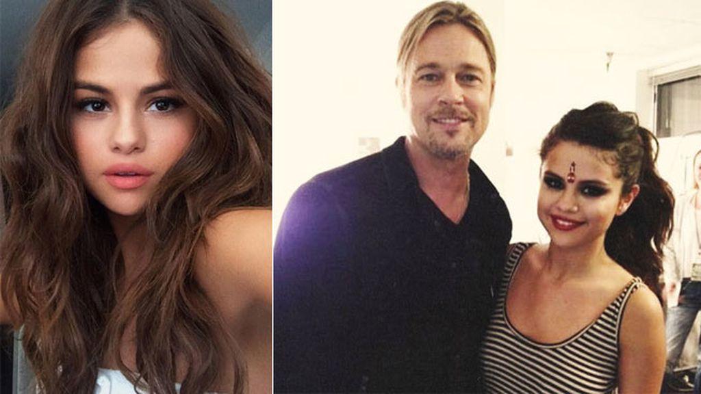 Selena Gómez es de las que empapelaba paredes con pósters de Brad Pitt