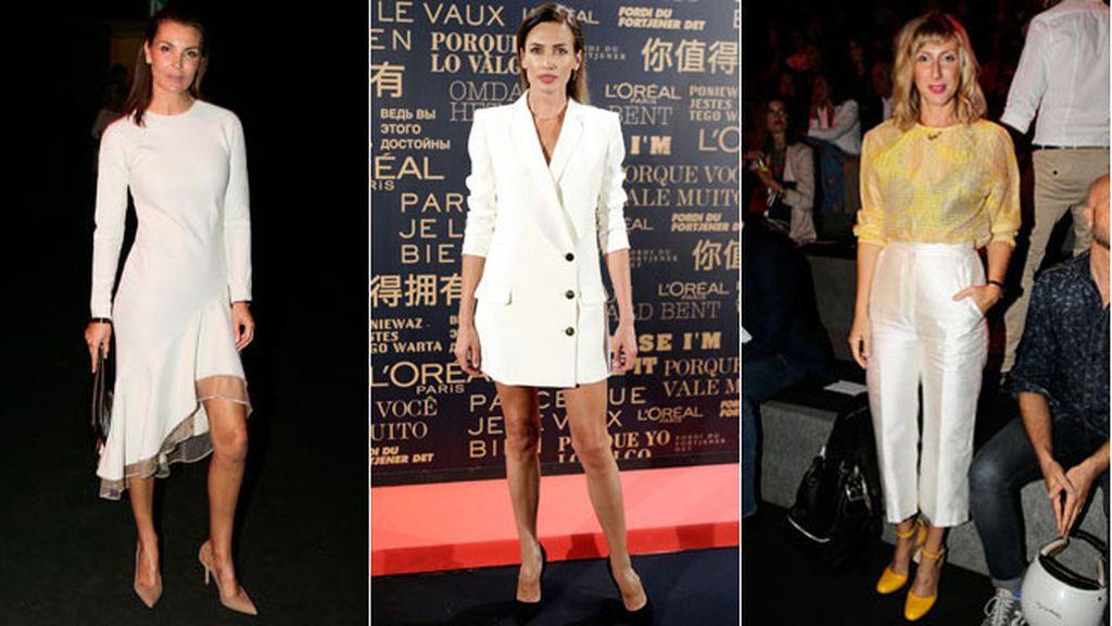 La semana de la moda se llena de famosos en la MBFW
