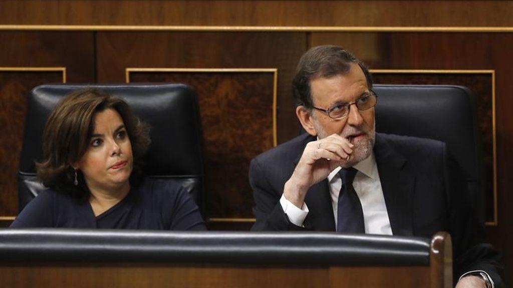 Rajoy en el discurso de investidura