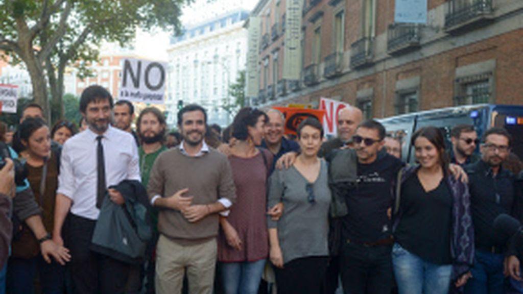 Presentes algunos líderes de Unidos Podemos
