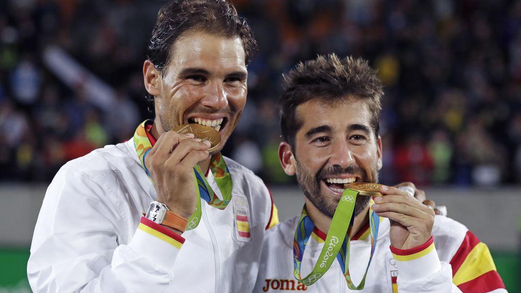 Nadal y Marc López, oro olímpico en dobles