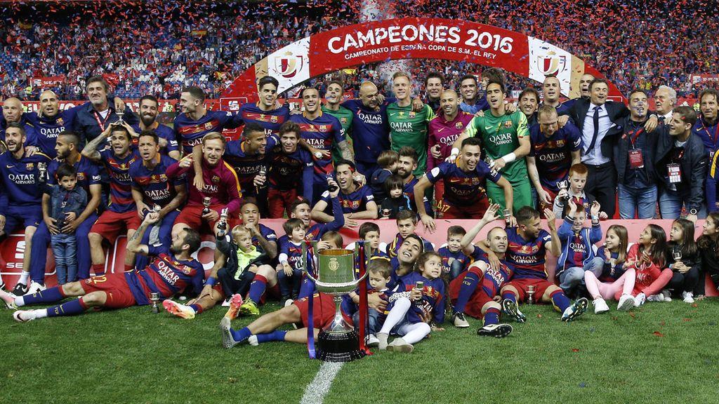 El FC Barcelona se alza con la Copa del Rey 2016 (22/05/2016)