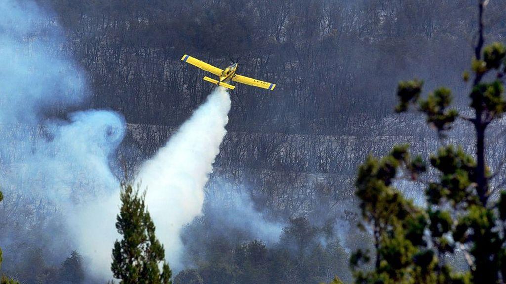 Histórico incendio en Argentina