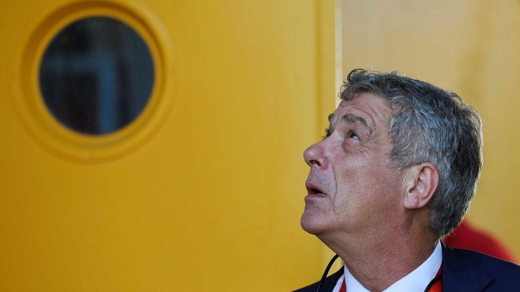 Ángel María Villar, presidente de la Real Federación Española de Fútbol