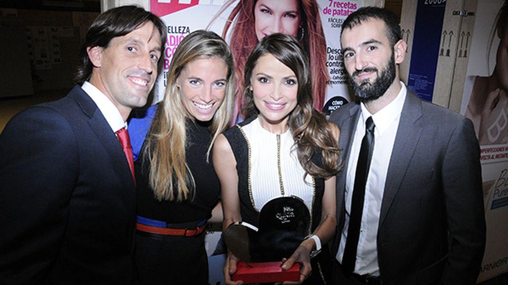 La ONG Kind Surf, capitaneada por Almudena Fernández, recibió el premio otorgado por las lectoras de Mia