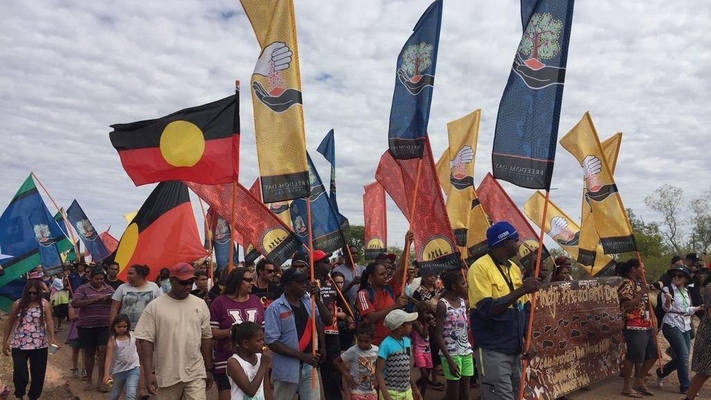 Aniversario de la marcha de Wave Hill, en Australia