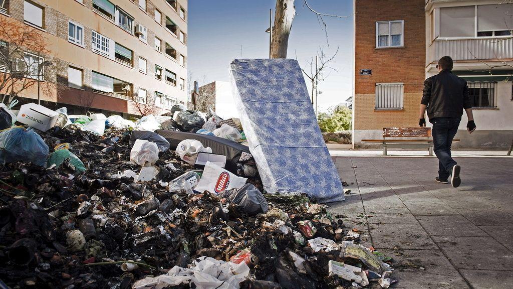 Huelga de basuras en Alcorcón