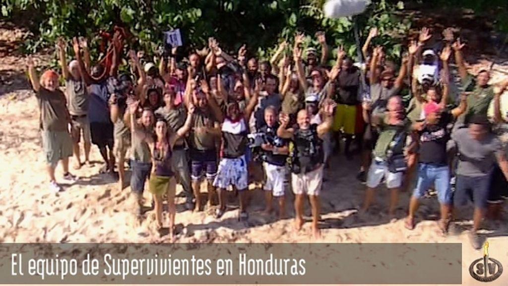 Equipo de Supervivientes en Honduras