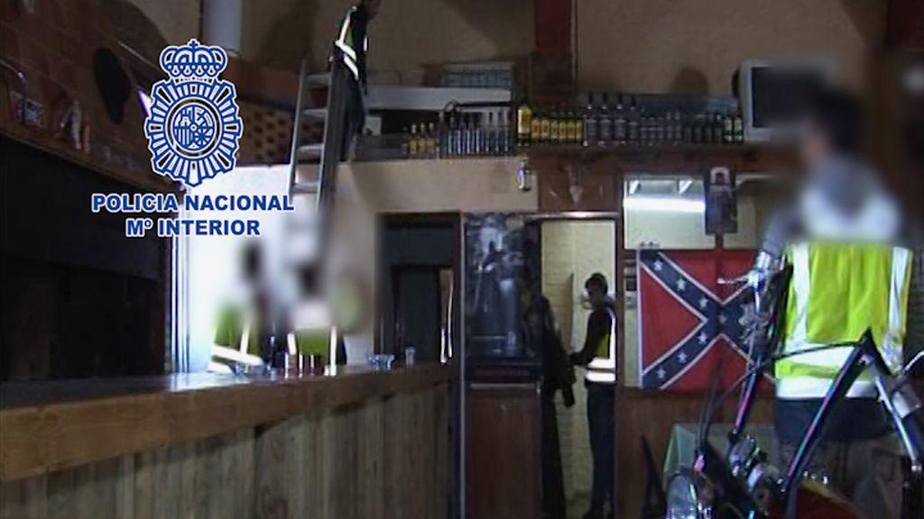 Detienen a ocho miembros de un grupo motero por agredir a una banda rival