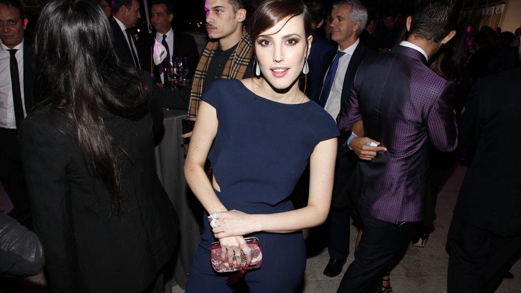 Natalia de Molina con un jumpsuit de Alicia Rueda