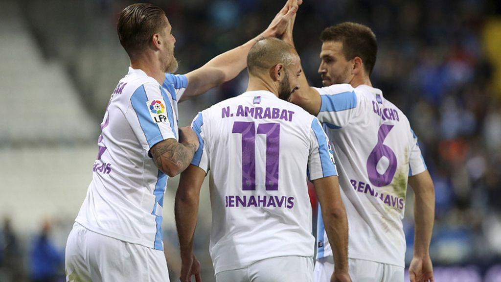 El Celta cae en Málaga y se aleja de la 'Champions'