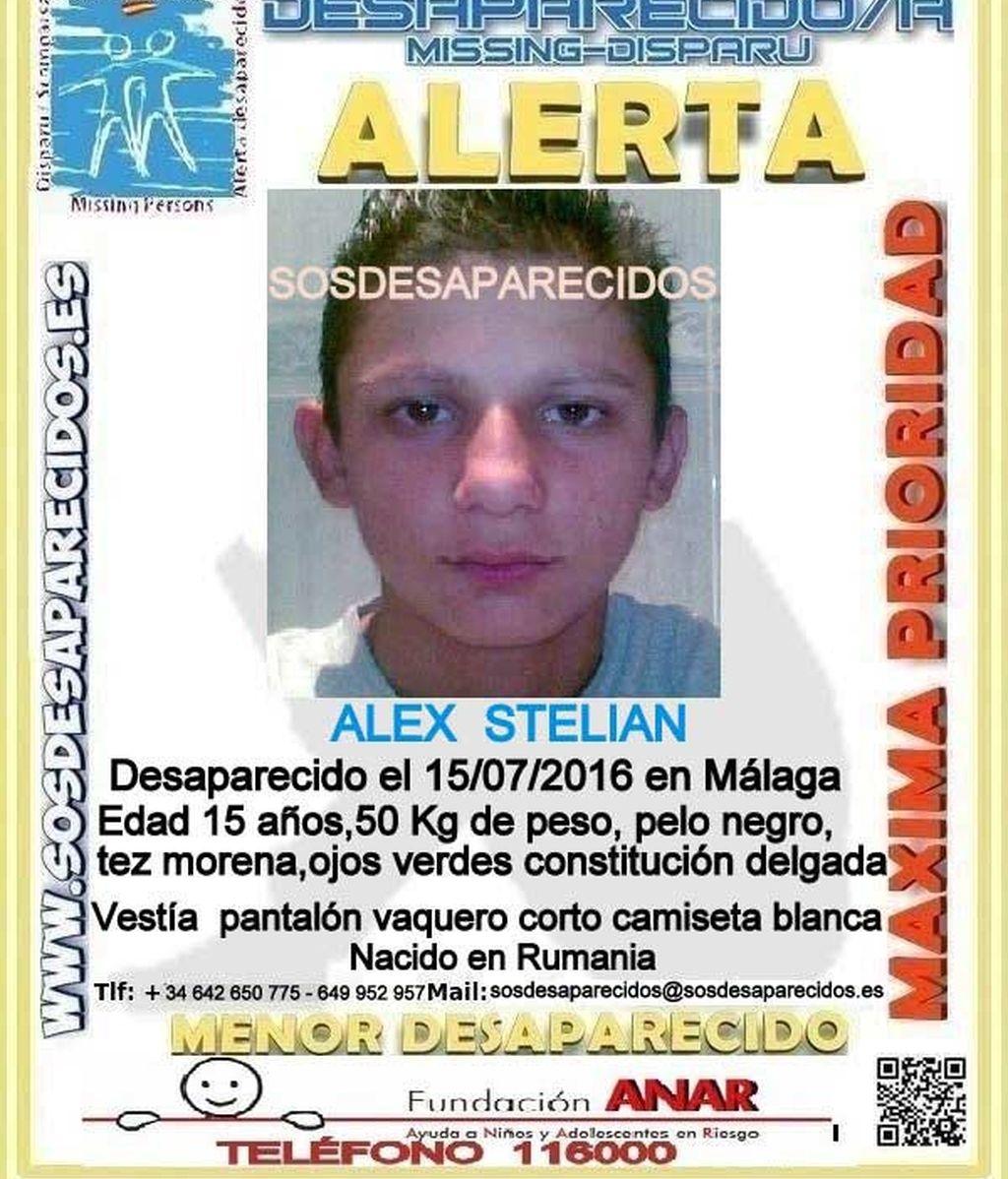 Buscan a un adolescente de 16 años desaparecido en Málaga