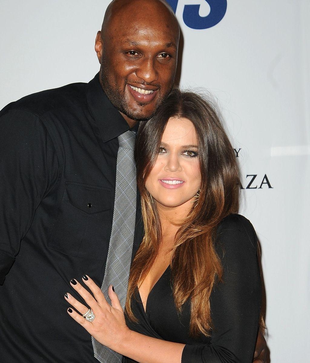 Lamar Odom y Khloe Kardashian, en una imagen de archivo