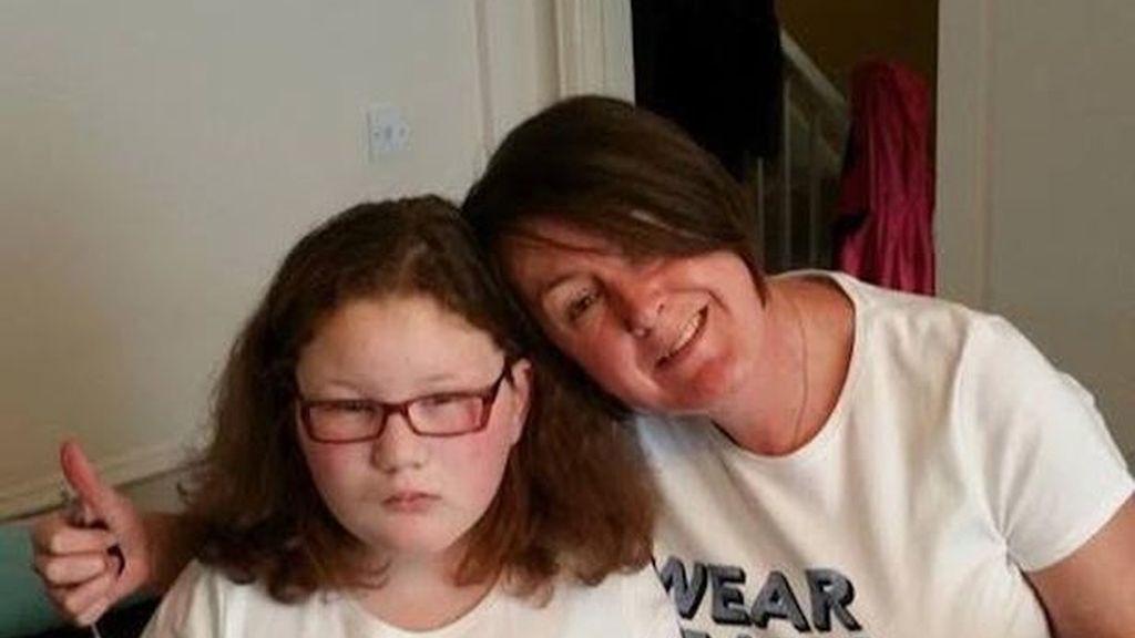 Keira Jones-McCarthy, padece el Síndrome Bardet-Biedl